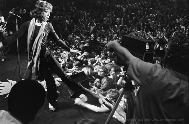Mick Jagger Oakland 1969