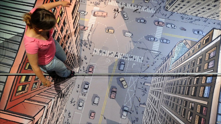 girl-walking-a-tight-rope-optical-illusion