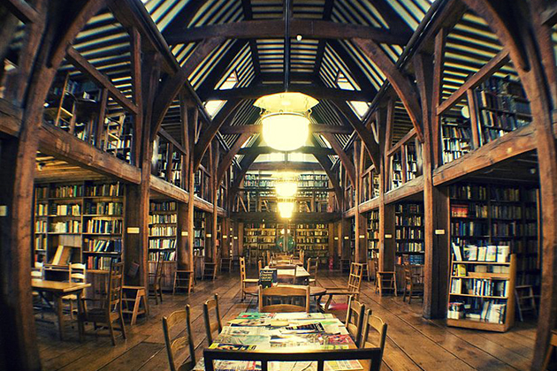 Bedales-Memorial-Library-England