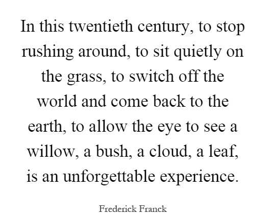 in-this-twentieth-century-to-stop-rushing-around-to-sit-quietly-on-the-grass-to-switch-off-the-quote-1