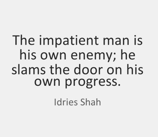 impattient