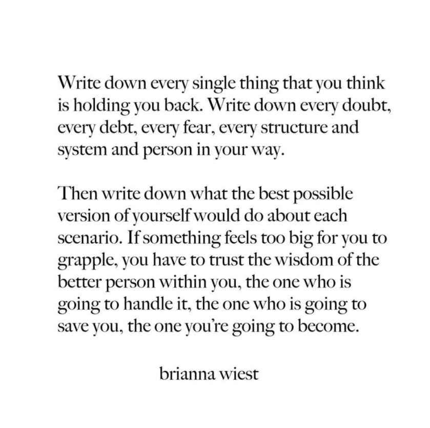 trust the wisdom